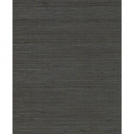 Multi Grasscloth Dark Grey Wallpaper