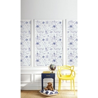 How to Build a Rocketship Wallpaper Room Setting
