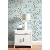 Woodlands Daisy Bennett Wallpaper Room Setting