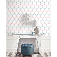 Lattice L'Atelier de Paris Wallpaper Room Setting