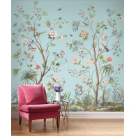 Tree Of Life Daisy Bennett Mural Room Setting