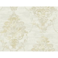 Impressionist Damask French Impressionist Wallpaper