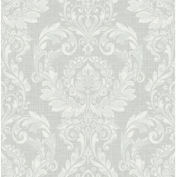 Damask Brownstone Wallpaper