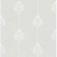Damask Stripe Brownstone Wallpaper