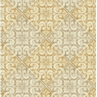 Tile Brownstone Wallpaper