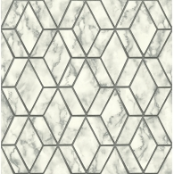Marble Tile  Brownstone Wallpaper