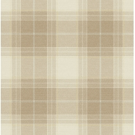 Plaid Brownstone Wallpaper