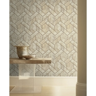 Tiling Canvas Textures Wallpaper Room Setting