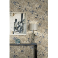 Large Marble Canvas Textures Wallpaper Room Setting