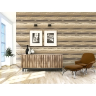 Watercolour Horizontal Canvas Textures Wallpaper Room Setting