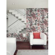 Leopard Skin Canvas Textures Wallpaper Room Setting