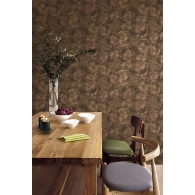 Petrified Wood Canvas Textures Wallpaper Room Setting
