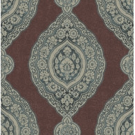 Oval Medallion Stripe Jaipur 2 Wallpaper