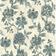 Watercolor Jacobean Jaipur 2 Wallpaper