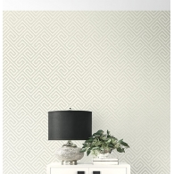 Deco Maze Selections Wallpaper Room Setting