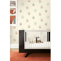 Furry Friends Baby Animals Playdate Adventure Wallpaper Room Setting