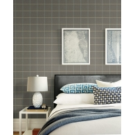 Plaid Selections Wallpaper Room Setting