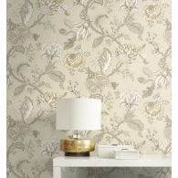 Jacobean Selections Wallpaper Room Setting