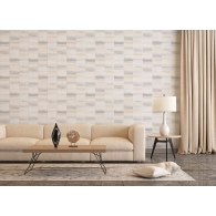 Large Tile Blocks Special FX Wallpaper Room Setting