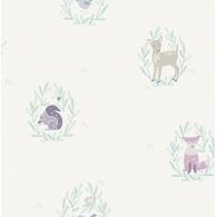 Furry Friends Baby Animals Playdate Adventure Wallpaper