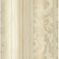 Acanthus Stripes Como Wallpaper