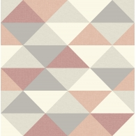 Multicolor Triangles Mod Geo Wallpaper