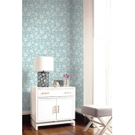 Floral Trail Sumi Wallpaper Room Setting
