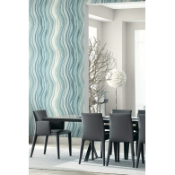 Agate Grain Luxe Revival Wallpaper Room Setting