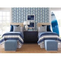 Good Vibrations Barclay Butera Wallpaper Room Setting