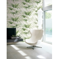 Open Palm Leaf Maui Maui Wallpaper Room Setting