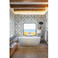 Tile Maui Maui Wallpaper Room Setting