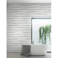 Pieced Marble Modern Foundation Wallpaper Room Setting