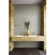 Fish Scales Sumi Wallpaper Room Setting