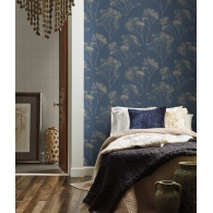 Boho Bouquet Aviva Stanoff Wallpaper Room Setting
