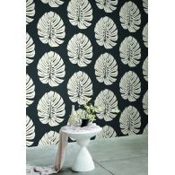 Bali Leaf Aviva Stanoff Wallpaper Room Setting