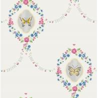 Flutter Butterfly Wreath Playdate Adventure Wallpaper