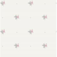 Little Posy Floral Spot Playdate Adventure Wallpaper