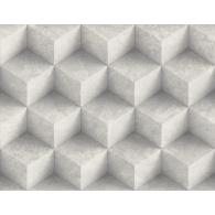 3D Concrete Diamonds Modern Foundation Wallpaper