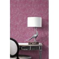 Woodgrain Sumi Wallpaper Room Setting