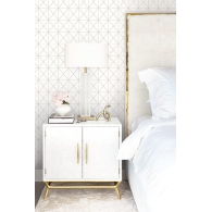 Geo Cage Casa Blanca 2 Wallpaper Room Setting