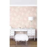 Wispy Blossom Casa Blanca 2 Wallpaper Room Setting