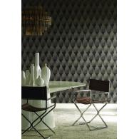 Flapper Antonina Vella Deco Wallpaper Room Setting