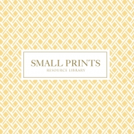 Small Prints Resource Library Wallpaper Book