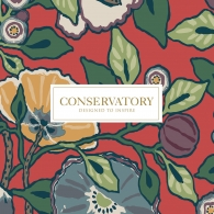 Conservatory Wallpaper Pattern Book