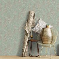 Rusty Texture Grunge Wallpaper Room Setting