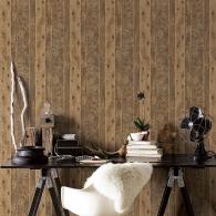 GOT Wood Grunge Wallpaper Room Setting