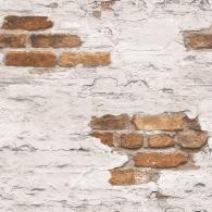 Exposed Brick Grunge Wallpaper