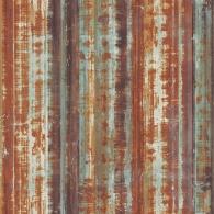 Corrugated Metal Grunge Wallpaper