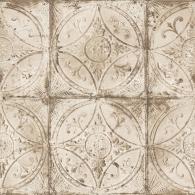 Tin Tile Grunge Wallpaper