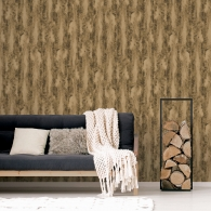 Chinchilla Fur Organic Textures Wallpaper Room Setting